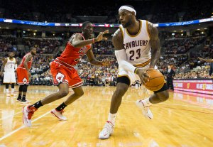 NBA: Preseason-Chicago Bulls at Cleveland Cavaliers